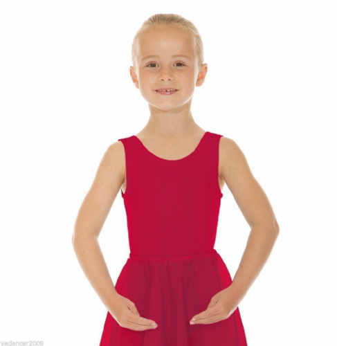 Roch Valley Sleeveless Dance Leotard Cotton Lycra ISTD Exam/Regulation PLUM ILEO